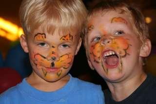 Раскраска лица на коляду