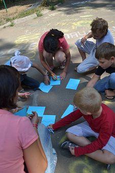 знакомство с детьми в лагере анализ