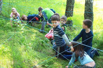 Для знакомства сплочения игры коллектива на лагеря
